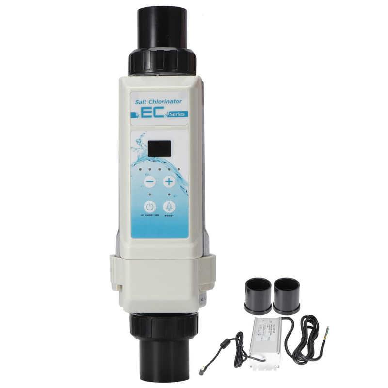 8 جرام/ساعة تجمع المياه المالحة الملح الكلور مولدات التحليل الكهربائي جهاز كلورة الملح لالمنتجعات الصحية حمام سباحة 100-240 فولت جديد