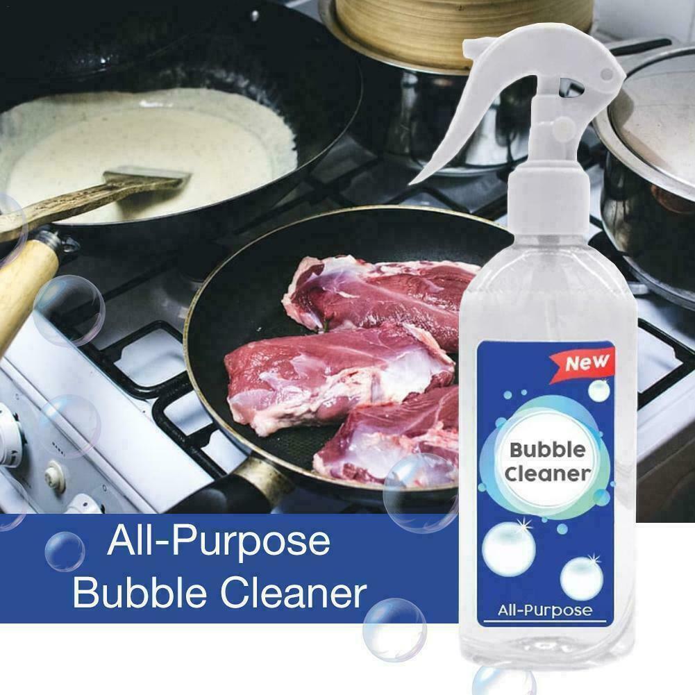 Detergente de limpieza limpiador de burbujas multiusos removedor de aceite de cocina de 200ml