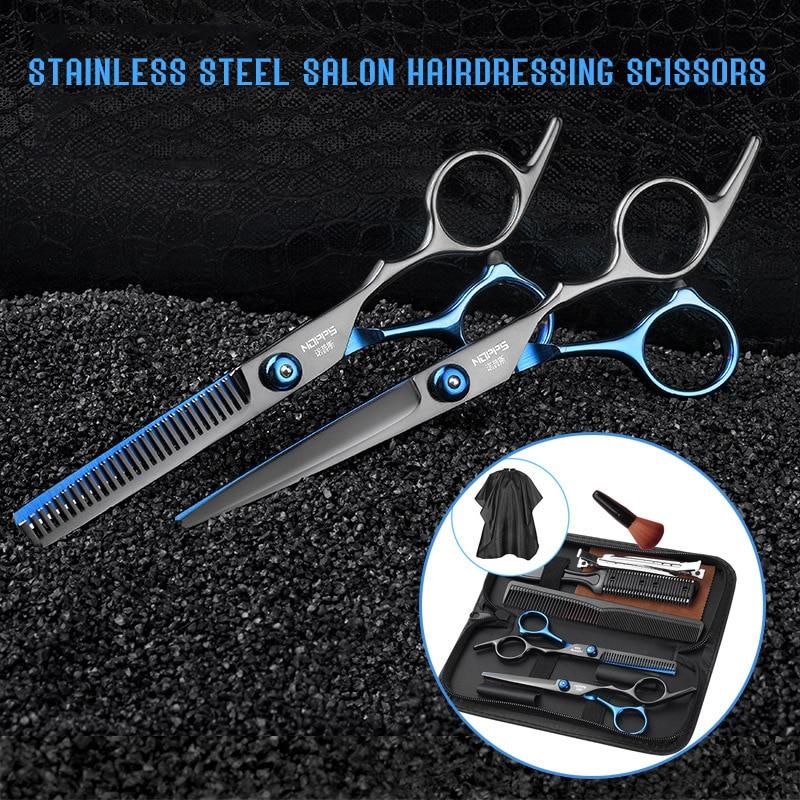 Tijeras profesionales de peluquería, juego de 6,0 pulgadas, tijeras de peluquero, herramienta...