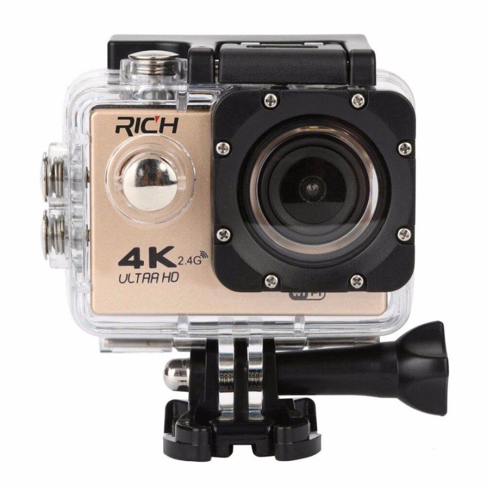 REICHE F6 Action kameras WiFi Helm Unterwasser Kamera Wasserdichte Sport kameras 1080P 170D Len gehen 2,0 LCD HD Camcorder DV pro