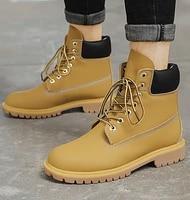 dragon captain fashion mens martin boots mens casual non slip work boots plus velvet warm high top boots