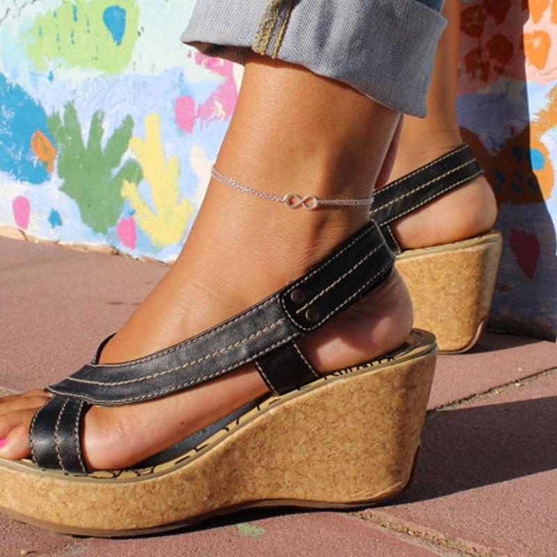 Color Infinity 8 pulsera tobillera en la pierna verano caliente joyería Para...