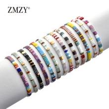 ZMZY luxe nouveau Bracelet de perles femmes bohème Miyuki Bracelet hommes Vintage bijoux Boho Tila perles Bracelet Mujer Filament