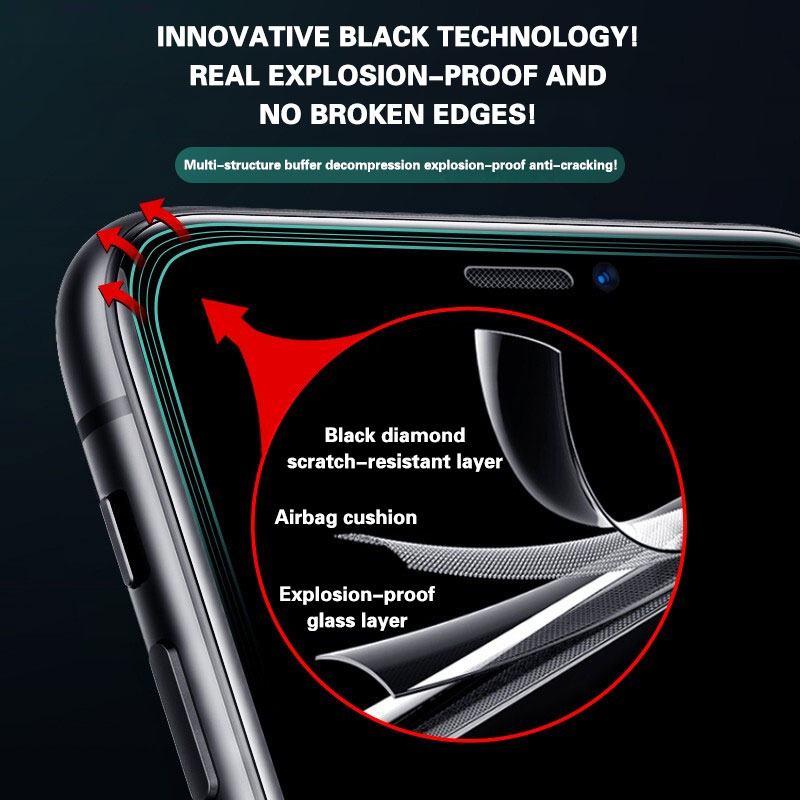3pcs Protective Glass on For iPhone 11 Screen Protector for iphone 11 Pro X XR XS Max 6 7 8 plus Full Cover Glass for iphone 11 enlarge