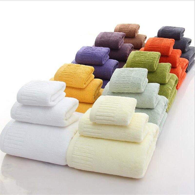 Toallas de baño gruesas de 3 piezas en 11 colores, conjunto de toallas para la cara, toallas de baño para adultos, toallas de baño absorbentes