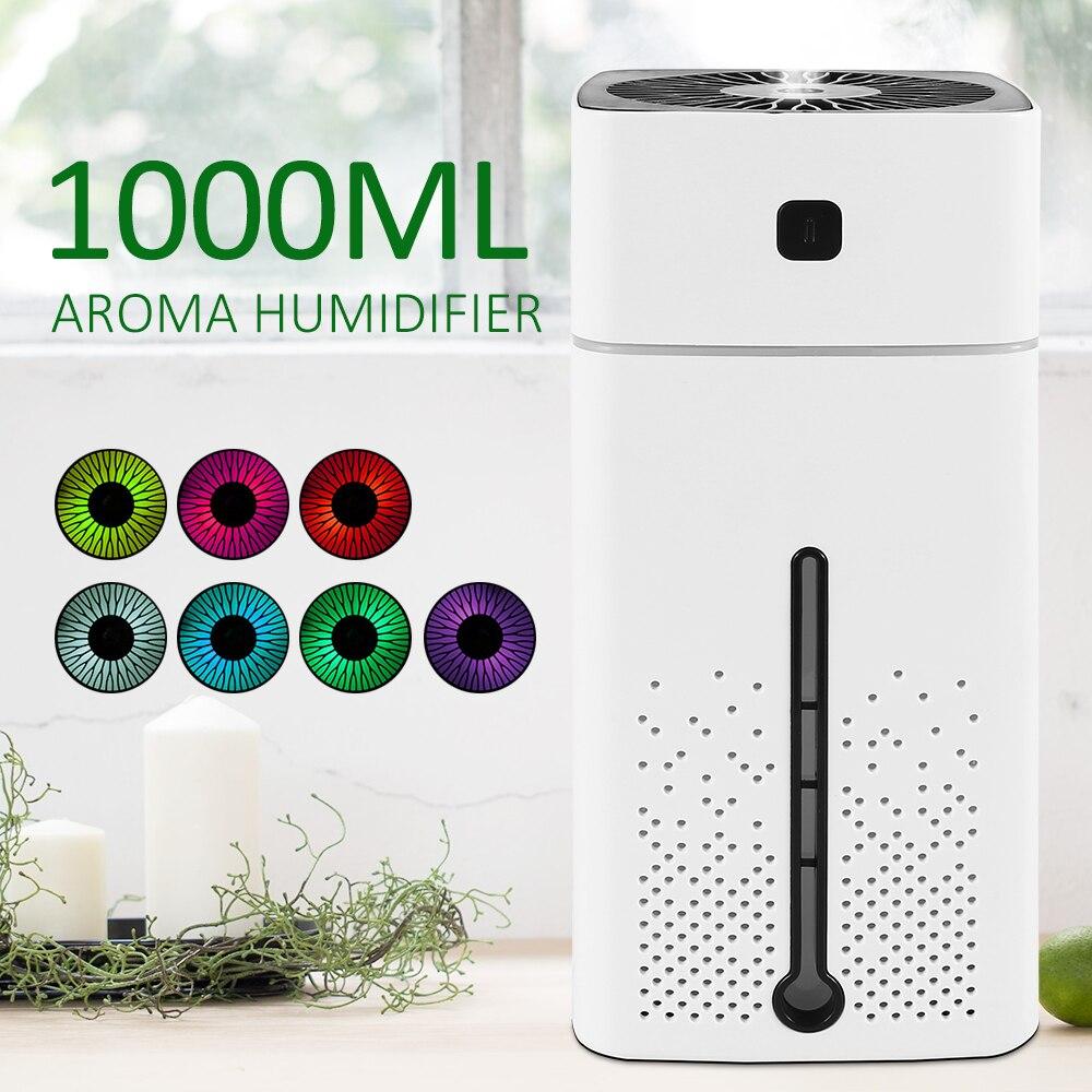 Mini máquina de aromaterapia silenciosa USB para el hogar, fragancias de aceite esencial, lámparas aromáticas para dormitorio y oficina
