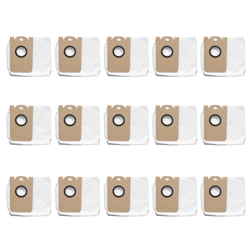 مجموعة ملحقات المكنسة الكهربائية الروبوتية Proscenic M7 Pro M8 Pro ، مجموعة من 15 قطعة ، كيس غبار مقاوم للتسرب مخصص ، قطع غيار ، ملحقات