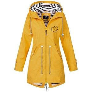 Women's Hooded Jacket Sports Hiking Jackets Camping Climbing Coat  Zipper Solid Print Outdoor Jackets Hooded Raincoat Windproof