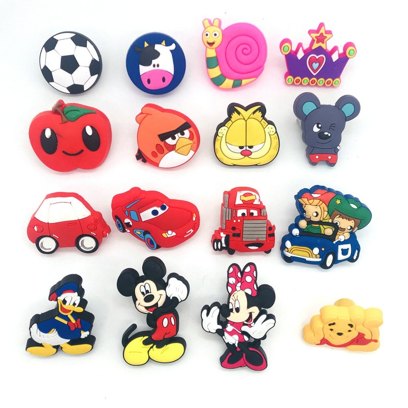 1X kids Lovely Cartoon Cabinet Knob Soft plastic Furniture Handle Knob Drawer Handle Children Room Prevent Door Cupboard Pulls