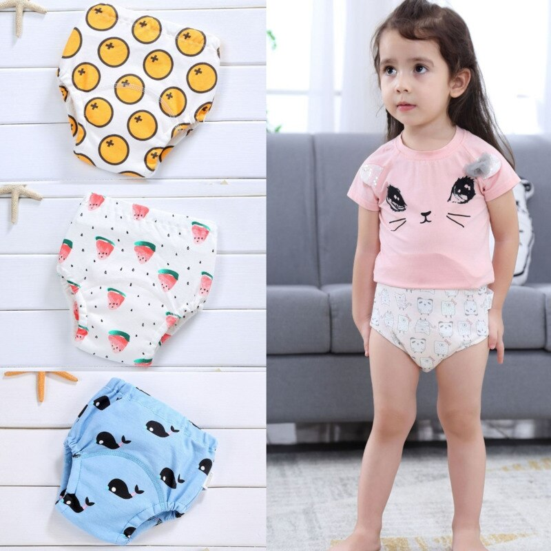AliExpress - Baby Cotton Diaper Washable Waterproof Training Pants Infant Newborn Shorts Underwear Cloth Diapers Nappies Reusable Panties