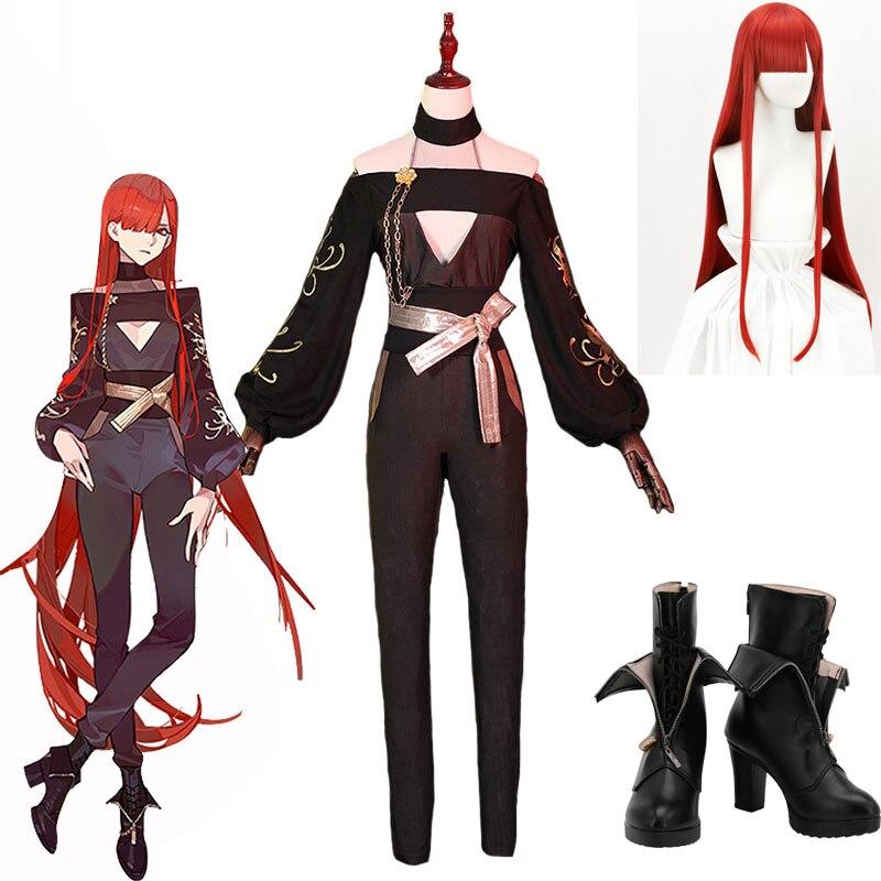 Игра FGO Fate Grand Order Oda Nobunaga Oda Kipposhi Demon King Nobunaga Moon униформа косплей костюмы FGO Oda Nobunaga парик обувь