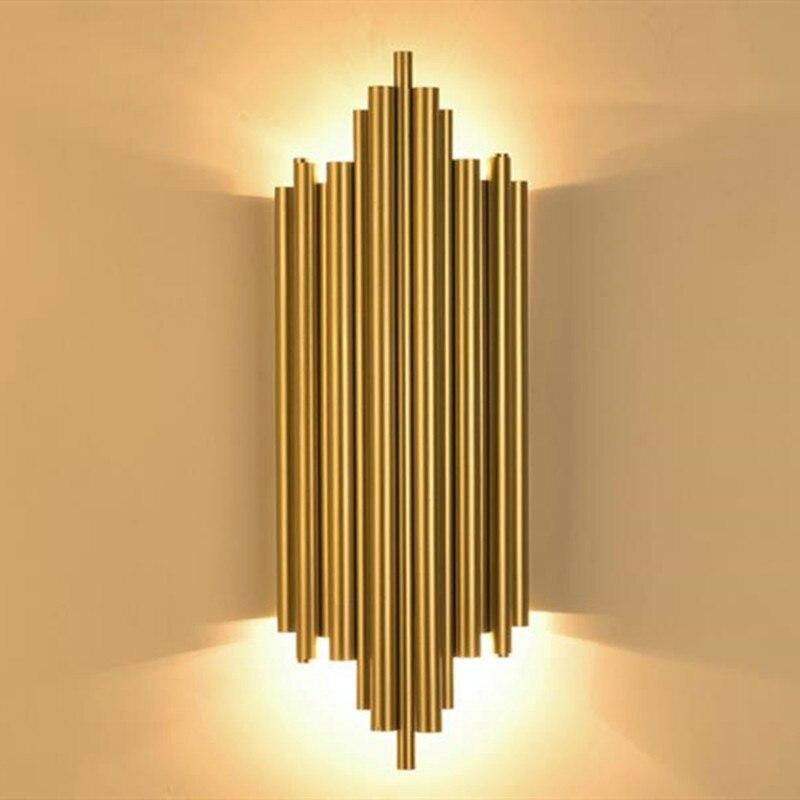 مصباح جداري معدني إبداعي حديث مصباح جداري عتيق لغرفة المعيشة وغرف النوم والمطبخ والشمعدان إضاءة