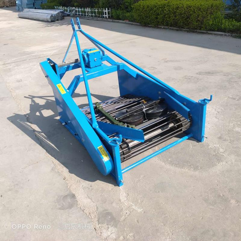 1.3m wide agricultural four wheel tractor with potato harvester potato harvester taro sweet potato harvester enlarge
