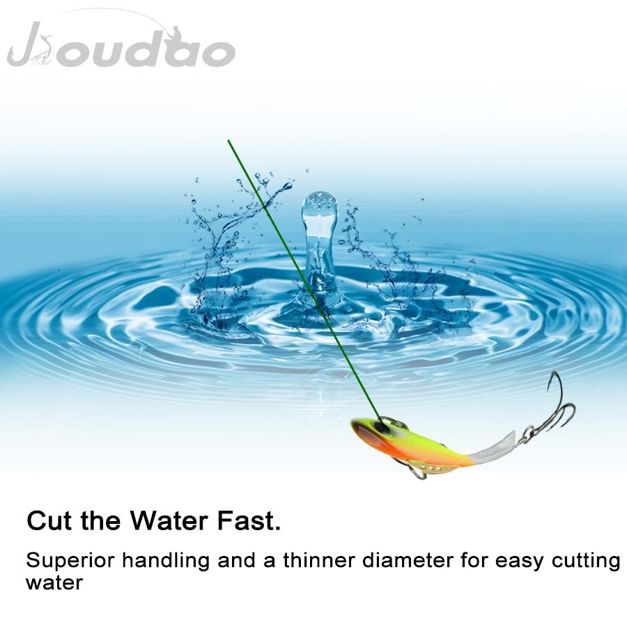 Jioudao Braided Fishing Line 9 Strands Fishing Pe Line 1500m Multi Color Multifilament PE Braid Line 20LB 60LB 110LB 150LB 200LB