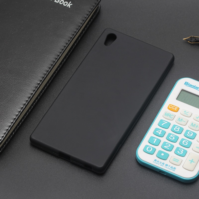Cubierta AMMYKI Z5 Premium de gama alta tendencia principal irregular suave negro silicona teléfono cubierta 5,5 para Sony Xperia Z5 Premium funda