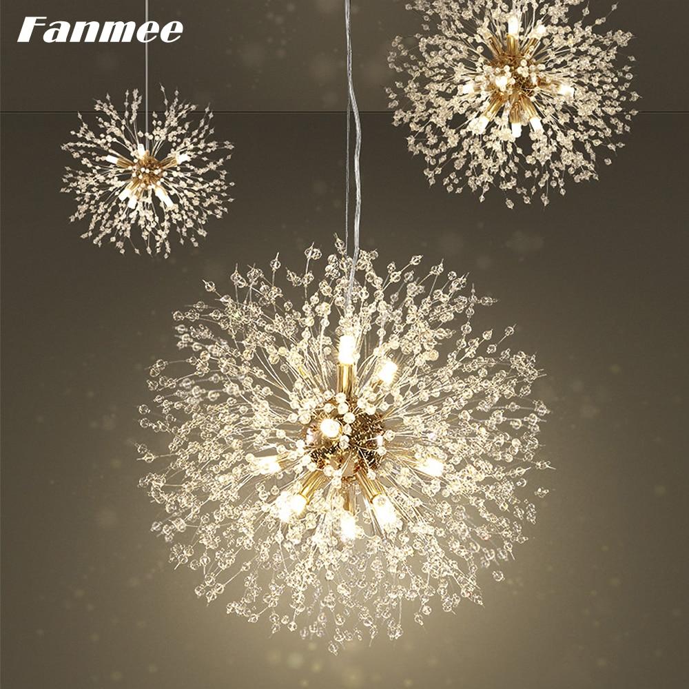 【Custom Link】Five Dandelion Chandeliers Totally Including 4 x 12 Bulbs and 1 x 24 Bulbs