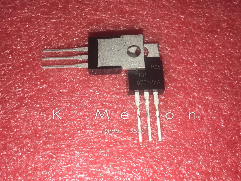 10 шт. FDP075N15A FDB075N15A 075N15A TO-220/263 130A 150В n-канальный MOSFET
