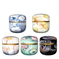 tea containers candle cans candy snacks small round cans mini portable tin cans packaging