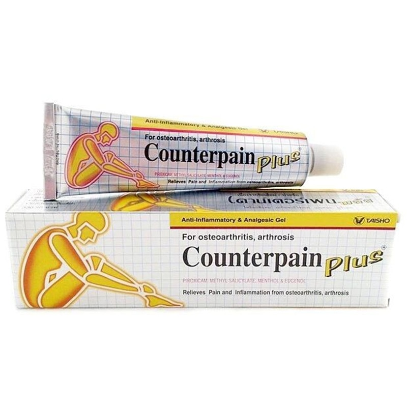 50G Thailand contrapeso crema fresca para masajes y dolor articular artritis alivio del dolor bálsamo serio para aliviar los dolores musculares