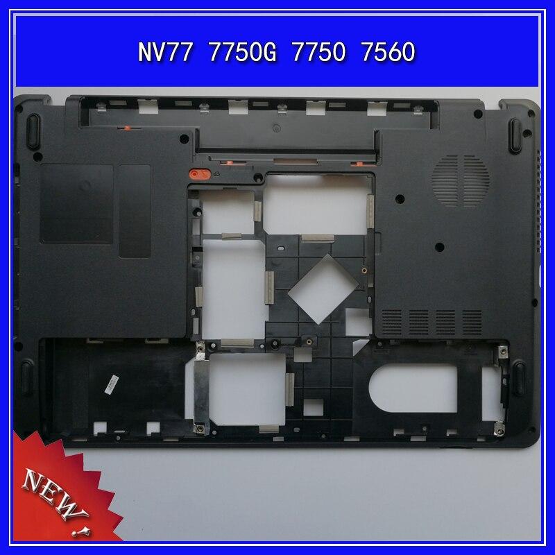 كمبيوتر محمول أسفل قاعدة غطاء أقل غطاء لهاتف ACER NV77 7750G 7750 7560 D قذيفة AP0HQ000600