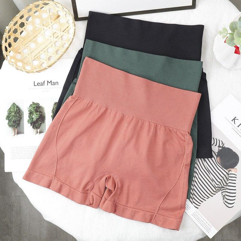 Cintura alta pantalones cortos perfecto Yoga pantalones cortos Scrunch culata pantalón corto...