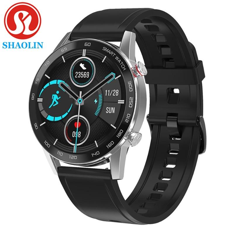 Bluetooth Calling Smart Watch Men Heat Rate Monitor 360*360 HD IPS Screen IP68 Waterproof Sports Sma