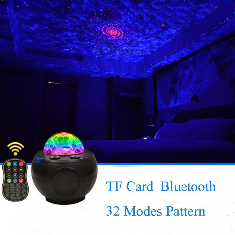 Новинка USB светодиод подзарядка сцена свет звезда лазер проекция лампа DJ дискотека эффект вечеринка свет для ребенка Рождество подарок KTV бар комната