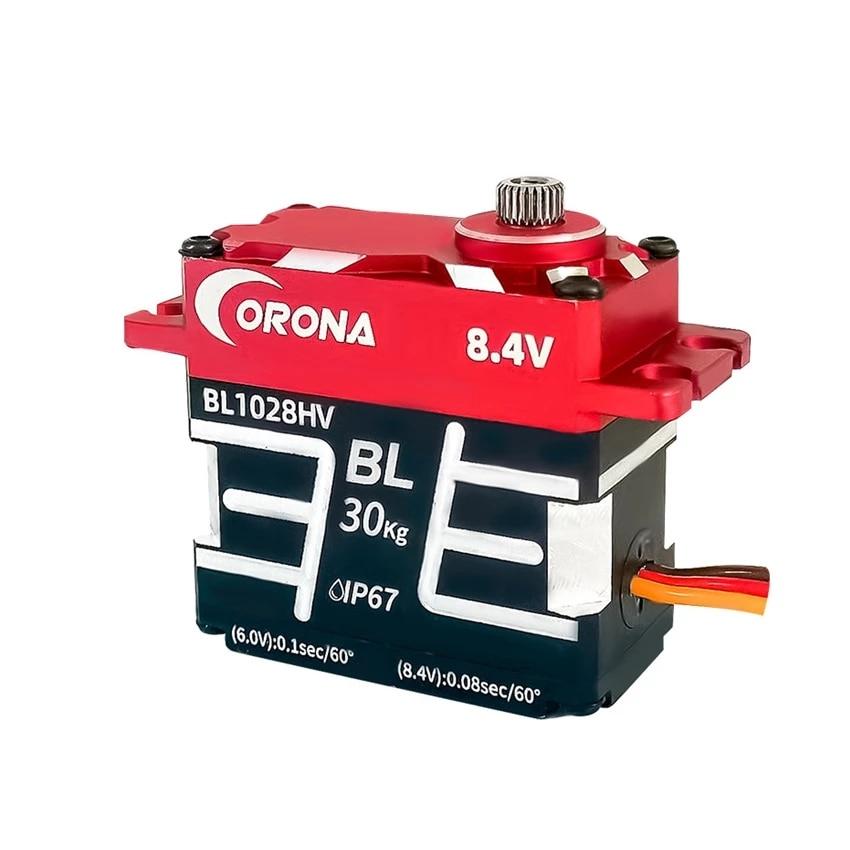 BL1028HV 5.0-8.4 فولت HV معدن كامل فرش سيرفو مقاوم للماء عالية السرعة عالية الجهد سيرفو لسباق السيارات/Rc اكسسوارات السيارات