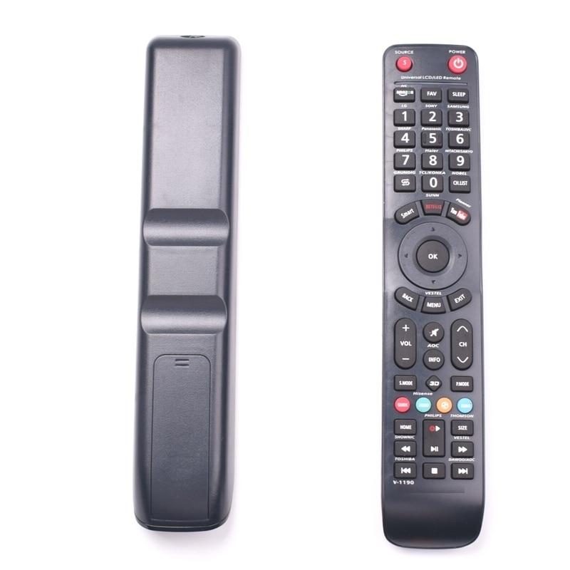 universal TV remote control work for  SHARP PHILIPS HAIER HITACHI SANYO TCL KONKA PANASONIC  HISENSE  GRUNDIG VESTEL LCD LED TV
