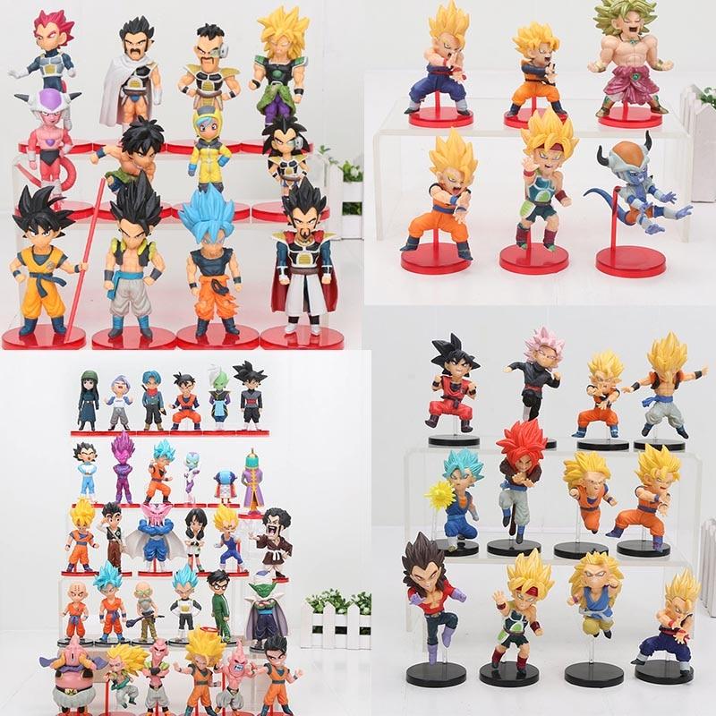 Dragon Ball Super vol.9 Super Saiyan God Super Goku Vegeta Kale Frieza Son Gohan Jiren PVC Figures Toys 6pcs/set