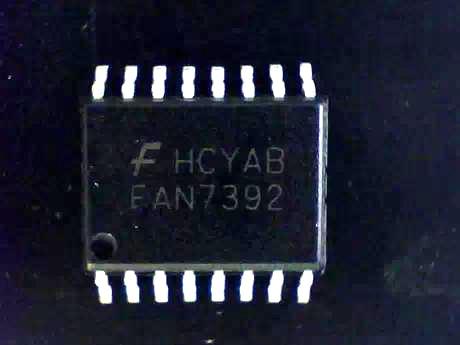 ¡Entrega Gratuita! FAN7392 FAN7392MX IC de administración de energía chip controlador