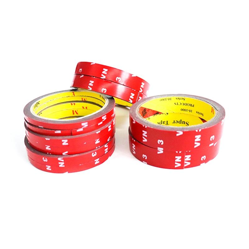 Двусторонняя клейкая лента скотч 3М (6 мм, 8 мм, 10 мм, 12 мм, 15 мм, 20 мм) (3M6MM, 3M8MM, 3m10мм, 3m12мм, 3m15мм, 3M20MM)