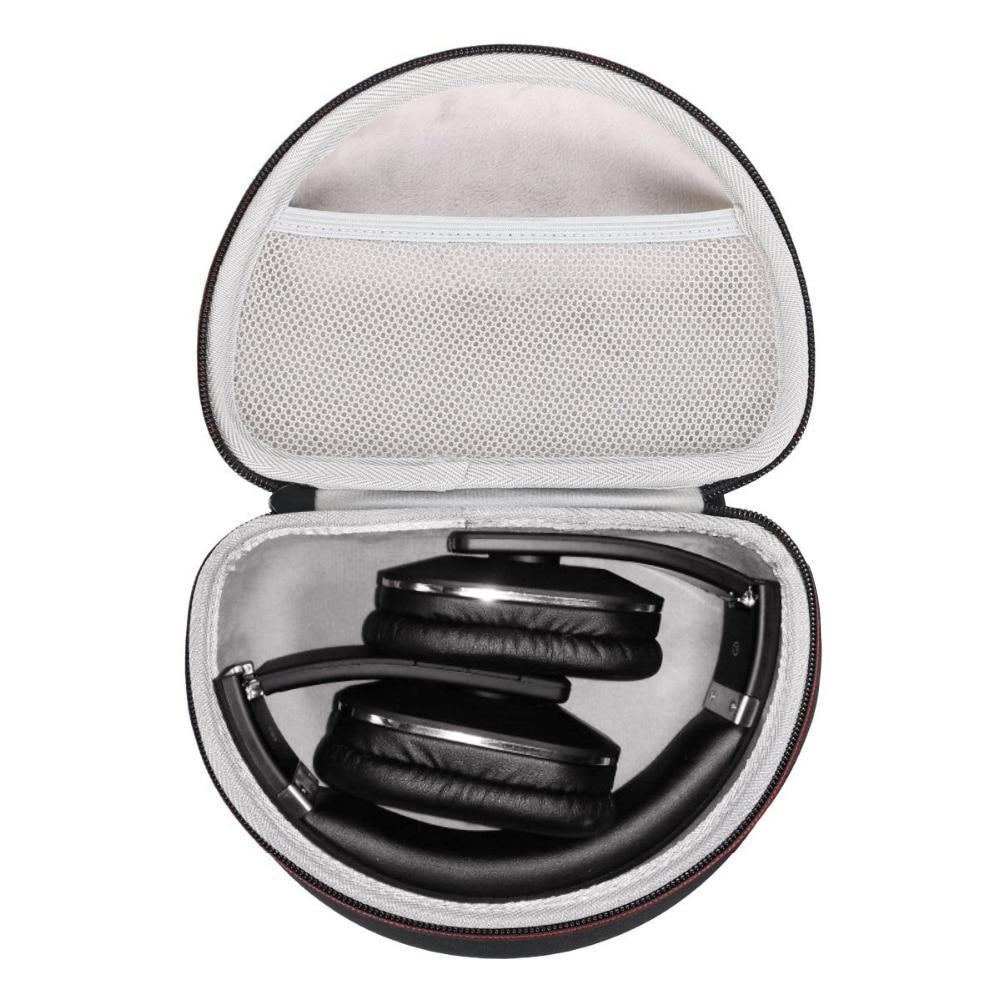 Новый жесткий EVA беспроводной над ухом чехол для наушников для August EP650-Дорожная сумка Bluetooth Беспроводные стереонаушники чехол