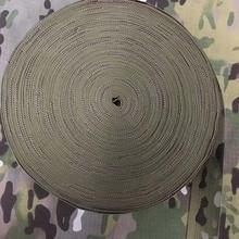 25mm  38mm 50mm Wide 1M Length Military Multicam MC Jacquard webbing Strap DIY Molle Belt Strap Band Tape