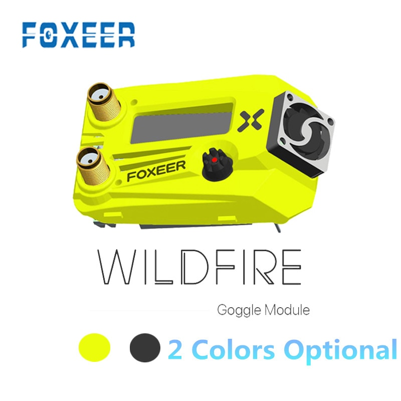 Foxeer Wildfire 5,8 GHz 72CH Dual módulo receptor para 0 Fatshark Series Dominator V1 V2 V3 V4 HD3 HDO FPV gafas de piezas de control remoto