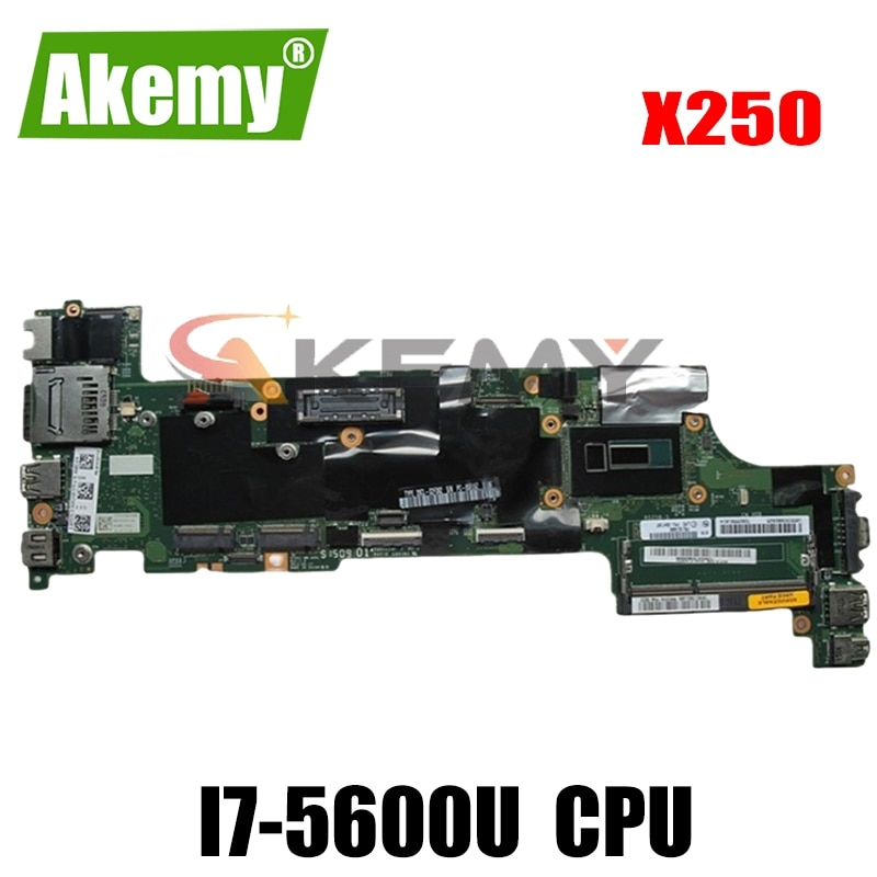 اللوحة الأم للكمبيوتر المحمول لينوفو ثينك باد X250 SR23V I7-5600U اللوحة الرئيسية VIUX1 NM-A091