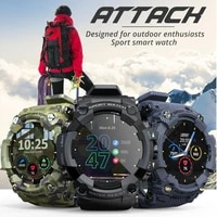 attack smart watch heart rate monitoring watches blood pressure waterproof ip68 fitness tracker smartwatches sports wristband