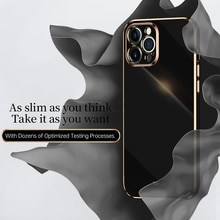 6D Square Plating Apply Phone Case For iPhone 12 Pro Max 11 XR X  XS MAX 6 7 8 PLUS SE mini Luxury R