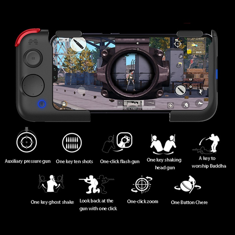 Betop G2 Wireless Gamepad Controller Bluetooth 5.0 Magnetic Combination Technology Android Support iOS 13.4 And Above