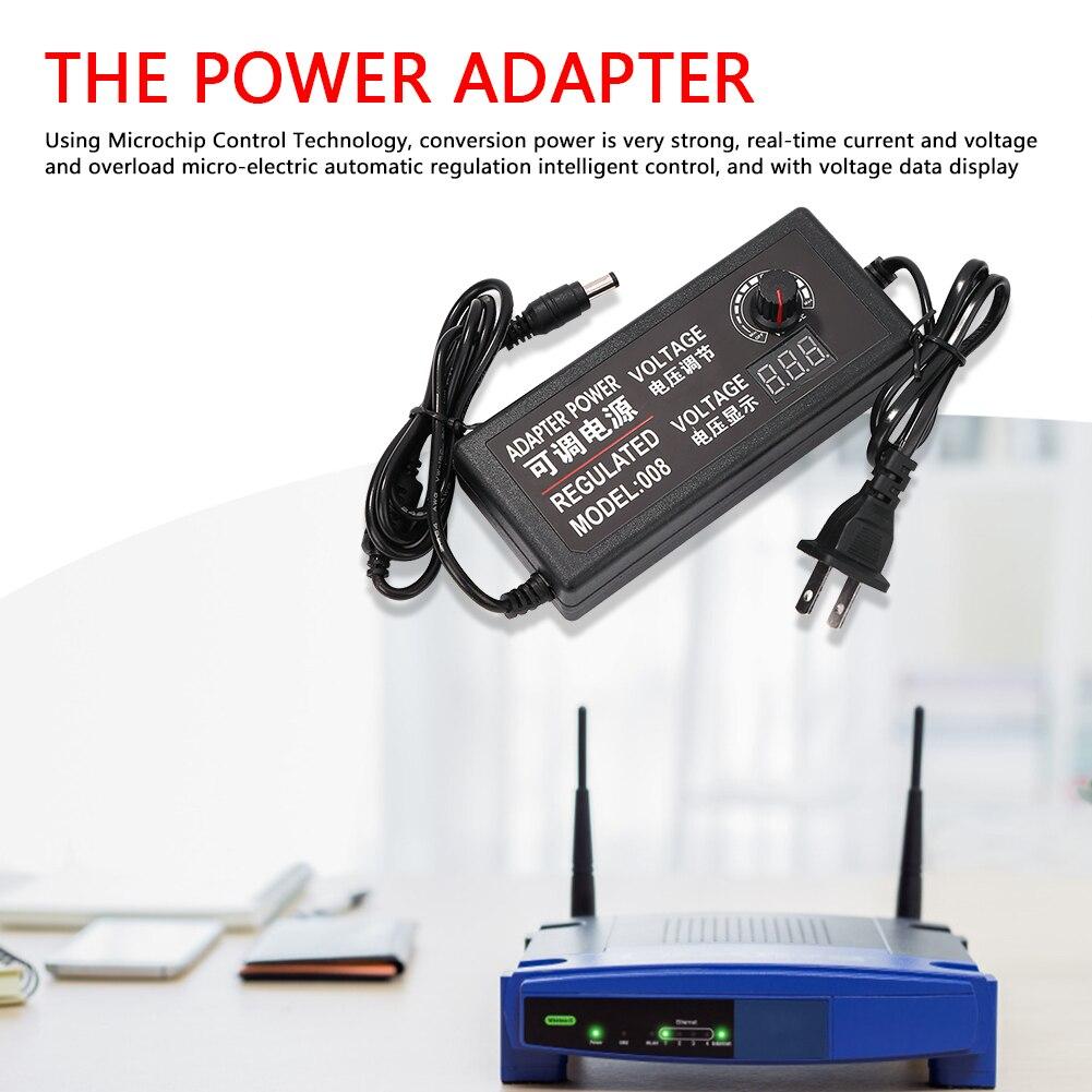 Adaptador Universal CA a CC, 3V-12V, 3V-24V, 9V-24V, con adaptador de fuente...