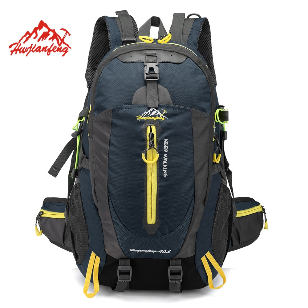 Waterproof Climbing Backpack Rucksack 40L Outdoor Sports Bag Travel Backpack Camping Hiking Backpack