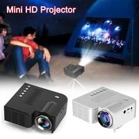 UC28C     Mini projecteur video Portable  cinema maison  fournitures de bureau  LCD noir blanc  lecteur multimedia pour telephones intelligents