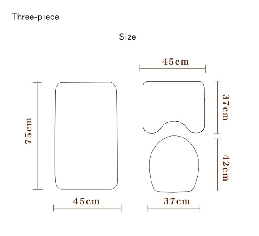 Color Butterfly Stone Printing Toilet Floor Mat set Shower Curtain 4-piece Toilet Seat Cover Bathroom Anti Slip Mat Set enlarge