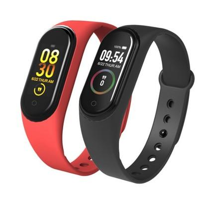 M4 banda inteligente Fitness Tracker reloj pulsera deporte Frecuencia Cardíaca presión arterial Smartband Monitor salud pulsera Fitness rastreador