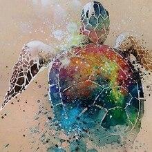Diamant tortue de mer plein diamant rond peinture point de croix tortue de mer plein diamant rond broderie tortue de mer