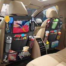 2pcs Baby Storage Bags Multi-Function Car Storage Bag Car Back Seat Pouch Oxford Cloth Organizer Car Backseat Bag Black