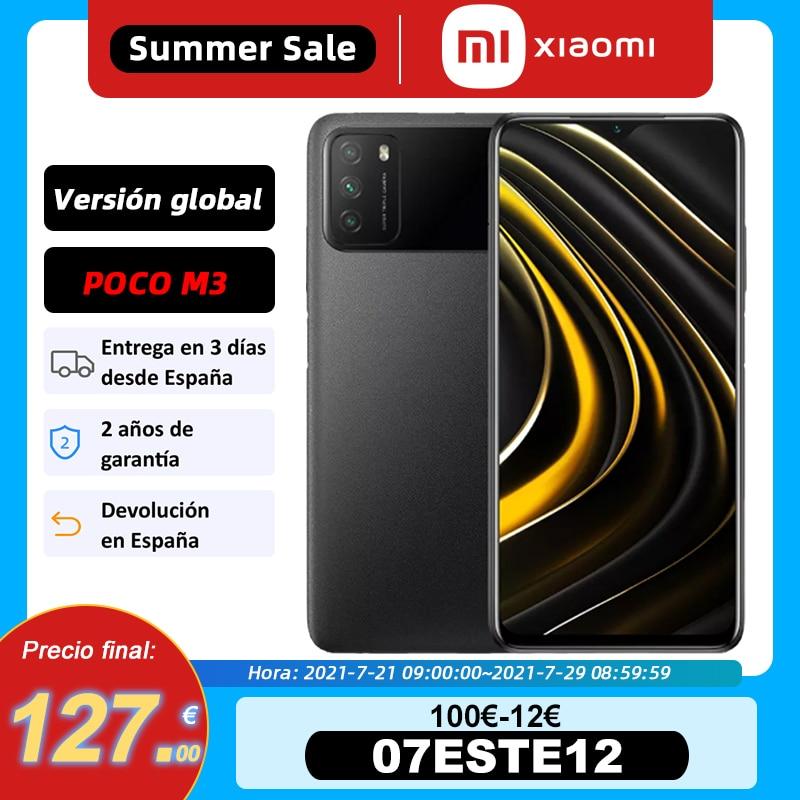 Global Version POCO M3 Snapdragon 662 4GB RAM 64GB/128GB ROM 6.53