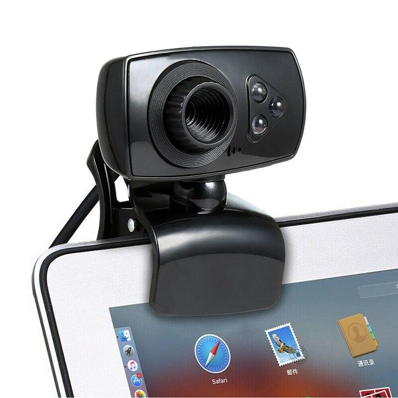 Full HD 12MP веб-камера USB 3 LED видео камера с микрофоном для ПК ноутбук клипы-на новое поступление