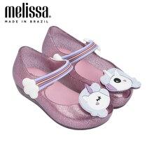 Mini Melissa Ultragirl Unicorn Girl Jelly Shoes Sandals 2020 NEW Baby Shoes Soft Bottom Melissa Sandals For Kids Non-slip