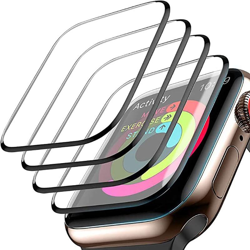 3D wodoodporny ekran Protector dla Apple Watch 38MM 40MM 42MM 44MM nie hartowane miękkie szkło Film dla IWatch serii 6/SE/5/4/3/2